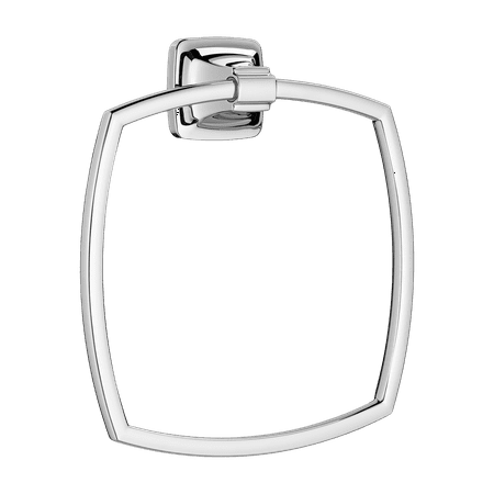 American Standard Townsend Square Towel Ring in Polished Chrome American Standard 18' Towel Bar