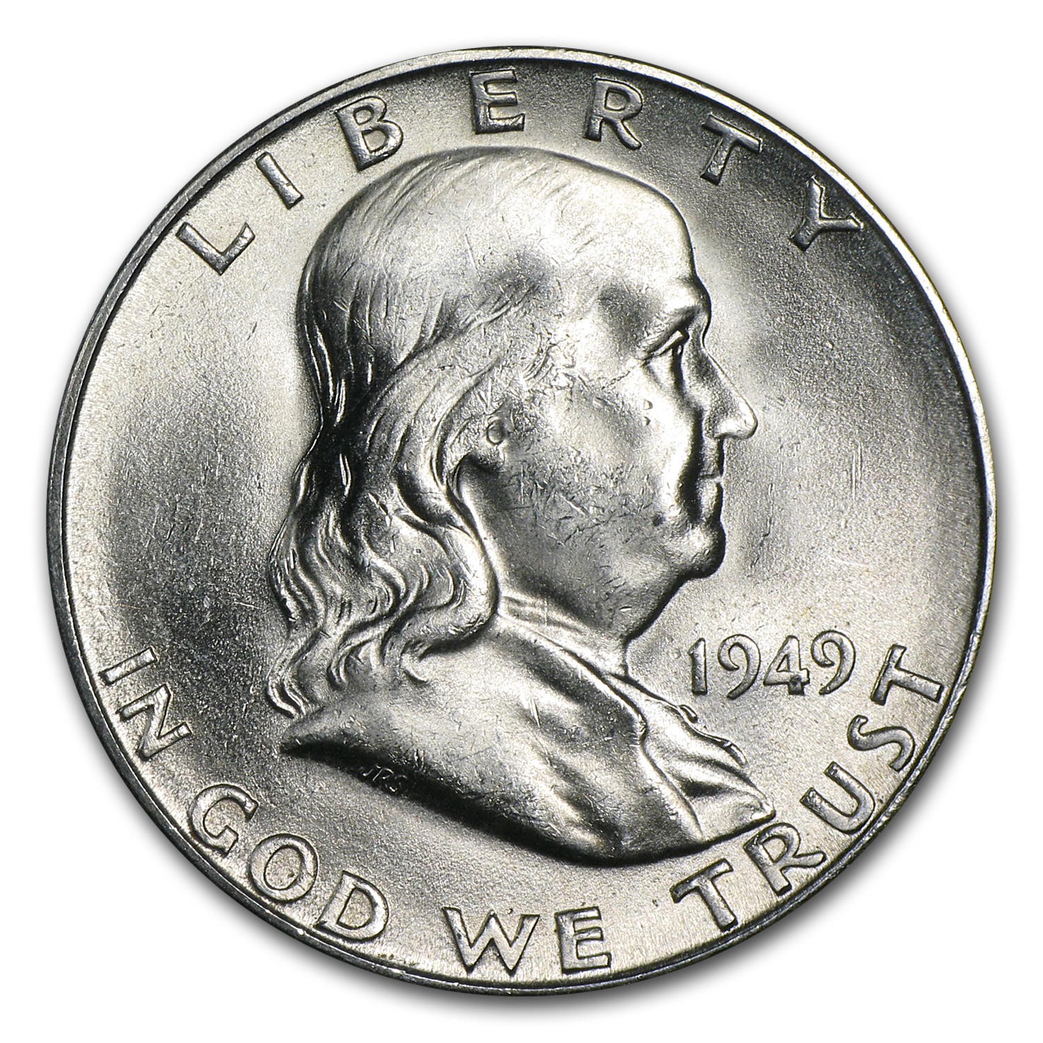 1949-S Franklin Half Dollar BU