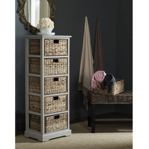 Safavieh Vedette 5 Wicker Basket Storage Tower