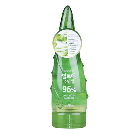 Olive Farm Aloe Vera 96% Extract Cool Water Soothing Gel 8.45 (Aloe Vera Face Cream For Dry Skin)