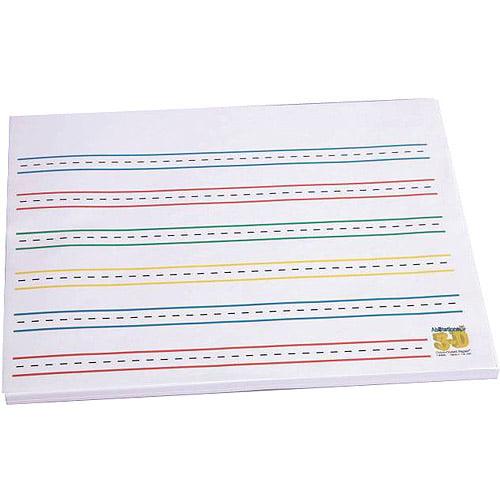 Abilitations Integrations Raised ColorCue Paper, 50 Sheets