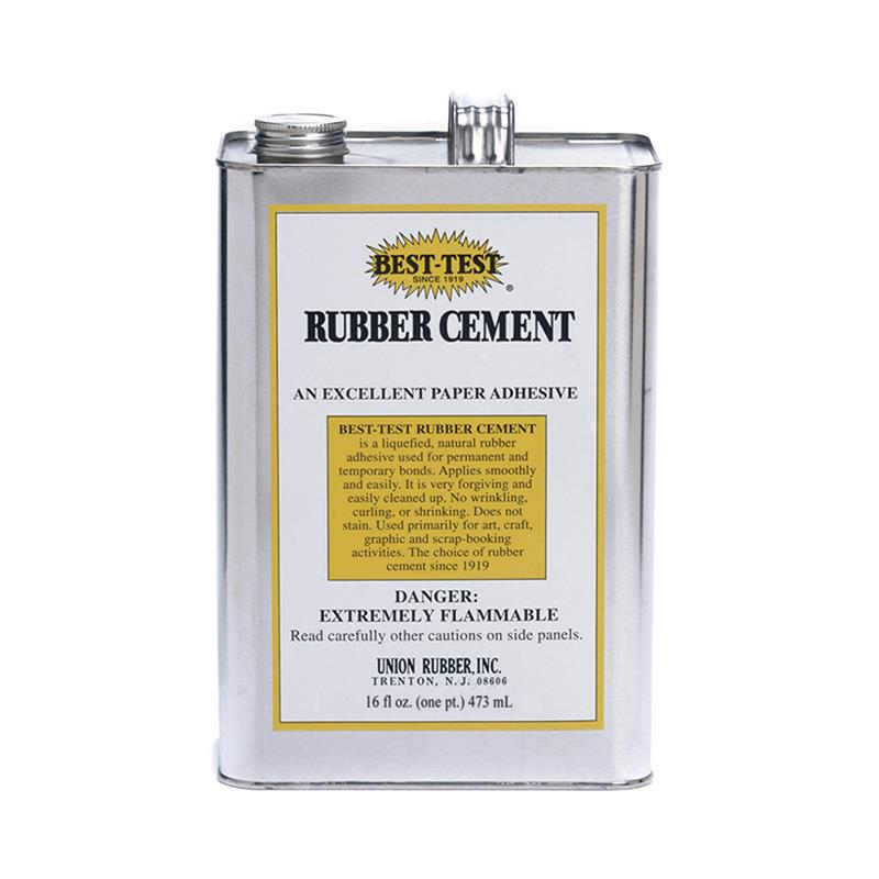 RUBBER CEMENT 16OZ CAN