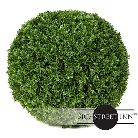 Cypress Topiary Tree - 3rd Street Inn Cypress Topiary Ball - 7
