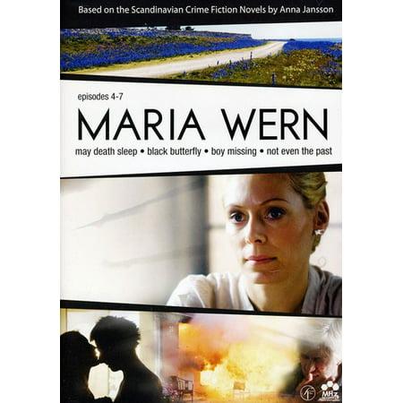 Maria Wern: Episodes 4 - 7 (DVD) (Chopped Food Network Halloween Episode)