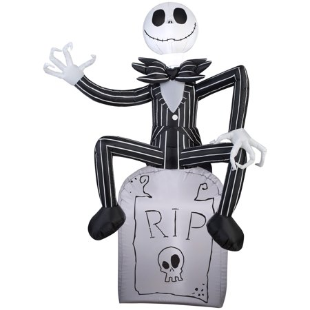 Halloween Airblown Inflatable 5 ft. Jack Skellington by Gemmy - Jack Skellington Cosplay