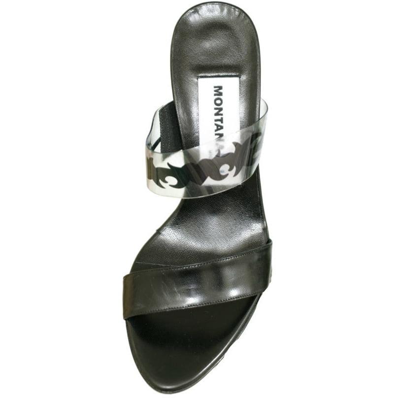 Claude Montana Blu A87 Beby Kid High Heel Pump Sandal Wom...