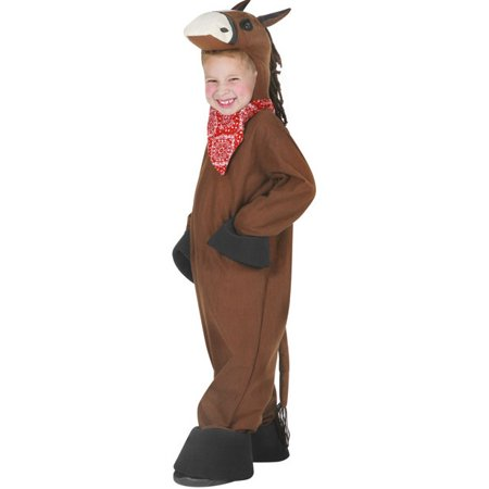 Toddler Horse Costume~Toddler 4T / Brown