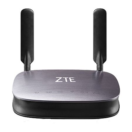 ZTE MF275R 4G LTE GSM UNLOCKED Wireless Internet Hotspot +Phone Base (Certified