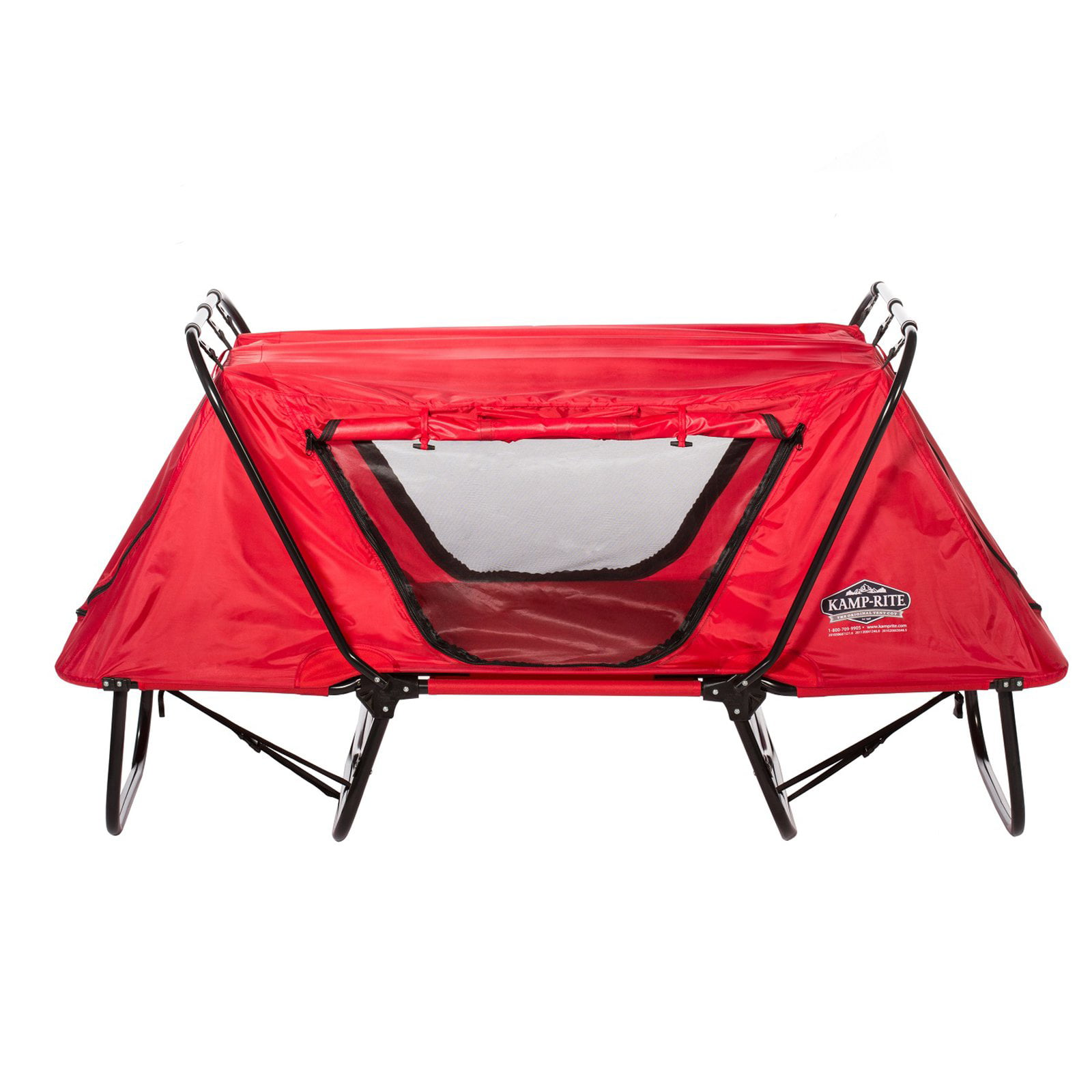 Click here to buy Kamp-Rite Kid Cot with Rain Fly Red by Kamp-Rite.