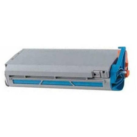 Genuine Okidata Cyan Drum - Universal Inkjet Premium Compatible Okidata 41963003 Cartridge, High-Capacity Cyan