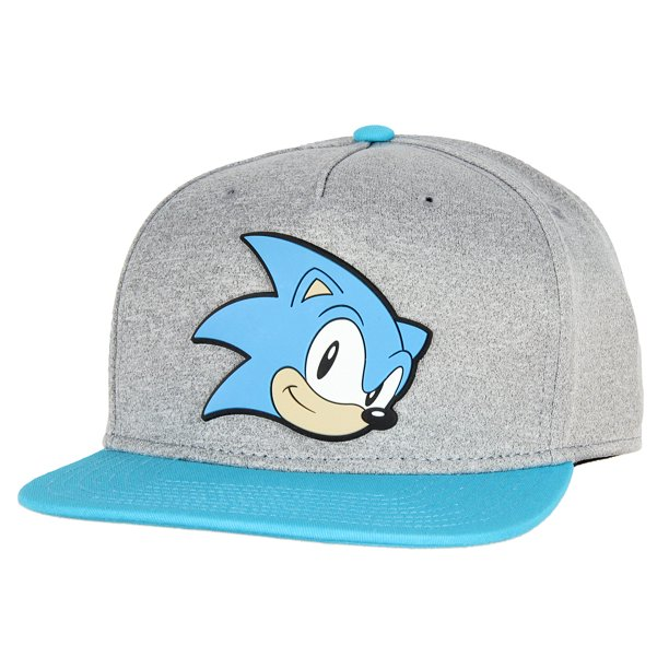 Bioworld Sonic The Hedgehog Face Snapback Youth Hat Walmart Com Walmart Com