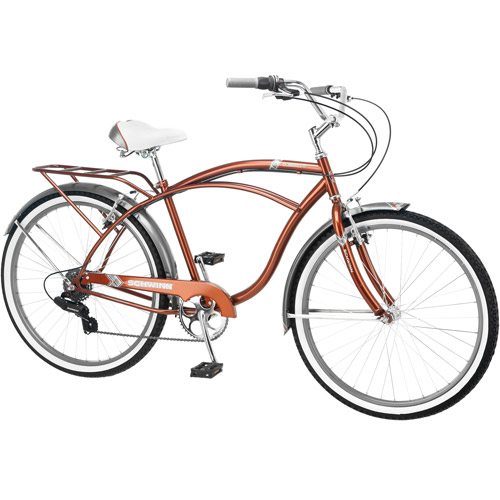 "26"" Schwinn Clairmont Men's Cruiser Bike, Brown/Gray"