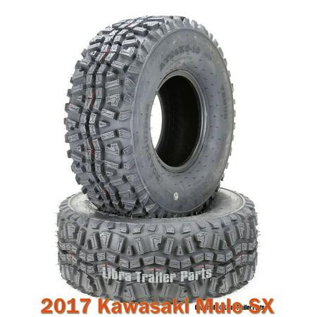 (2) 24x9-10 ATV Front Tire Set for 2017 Kawasaki Mule SX - Kawasaki Mule Tires