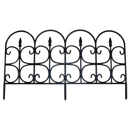 Emsco Group 2093 Medium Victorain Ornamental Gate Fencing Pack Of 24