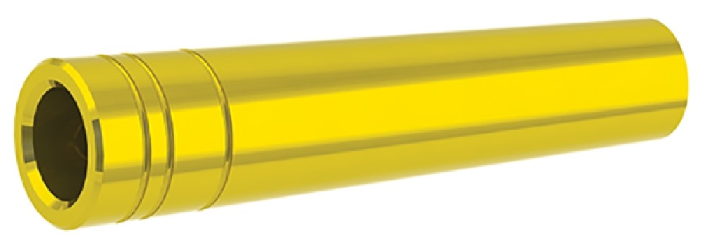 12 Pack Gold Gold Tip Ballistic Collar for Pierce 500 Small