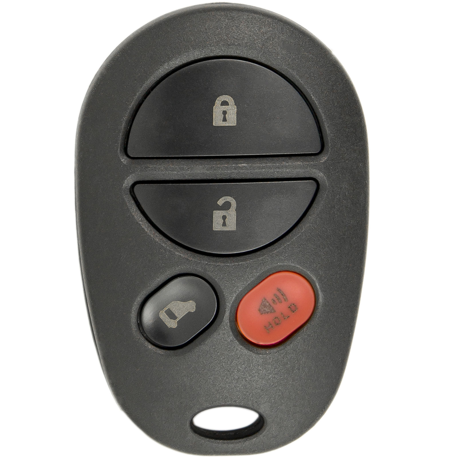 New Replacement Keyless Entry Remote Key Fob for Toyota Sienna with FCC ID GQ43VT20T