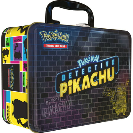 Pokemon TCG: Detective Pikachu Collector Treasure Chest + 9 Booster Pack + A Collector