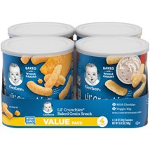 Baby & Toddler Snacks: Gerber Lil' Crunchies