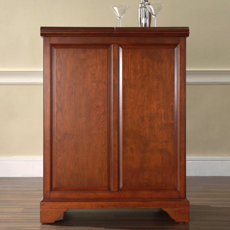 Crosley Furniture Lafayette Expandable Bar Cabinet