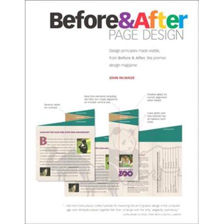 Before and After Page Design - eBook