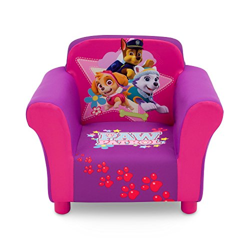 Delta Children Nick Jr. PAW Patrol Skye & Everest Upholstered Chair
