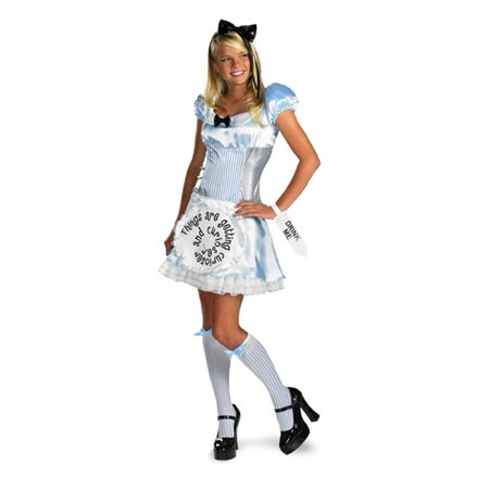 Adult and Teen Alice in Wonderland Costume Disguise 50332 - White Queen Alice In Wonderland Costume