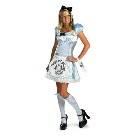 Adult and Teen Alice in Wonderland Costume Disguise 50332 - Alice In Wonderland Play Costumes
