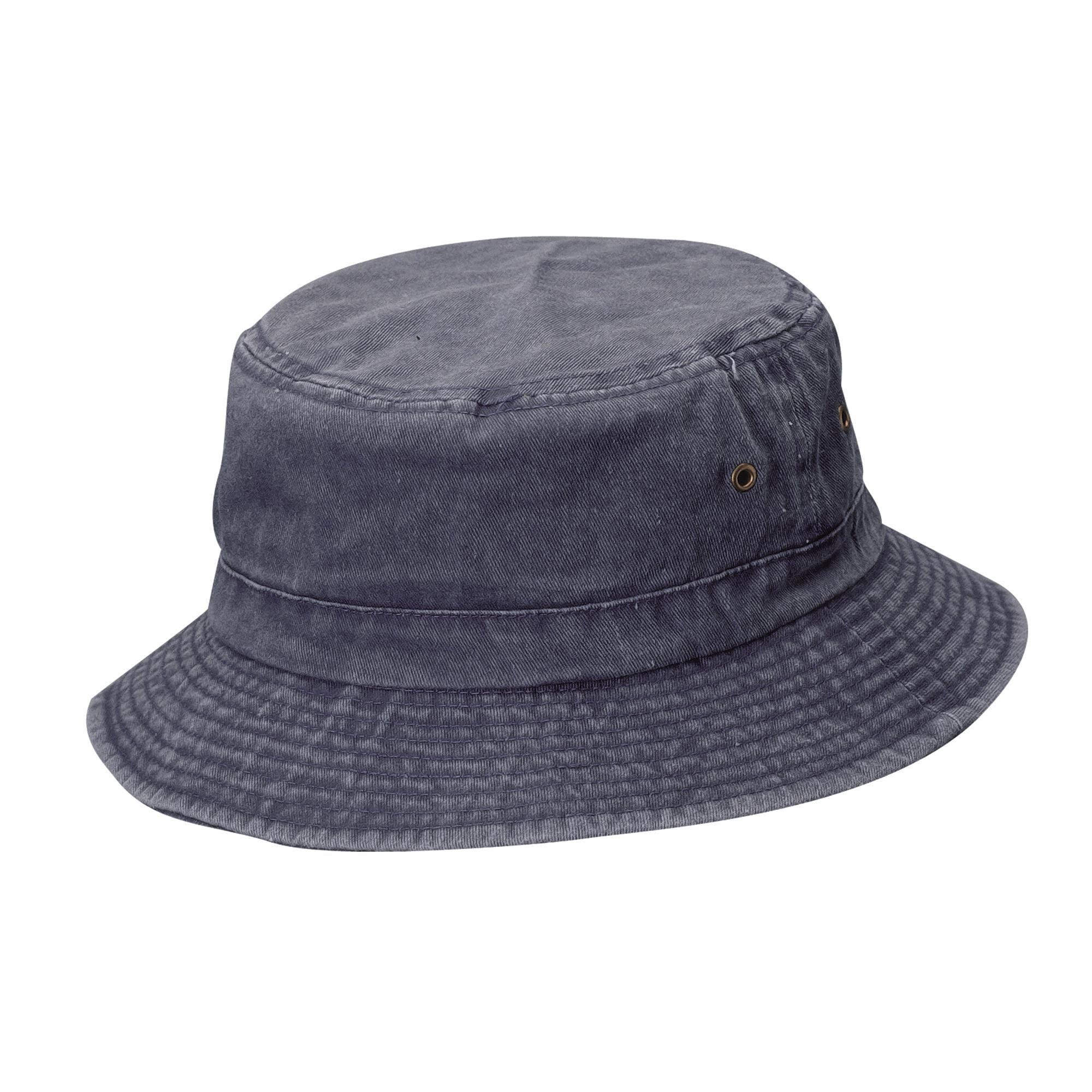 fd8be20020b Dorfman Pacific Cotton Big and Tall Summer Bucket Hat 2XL 3XL