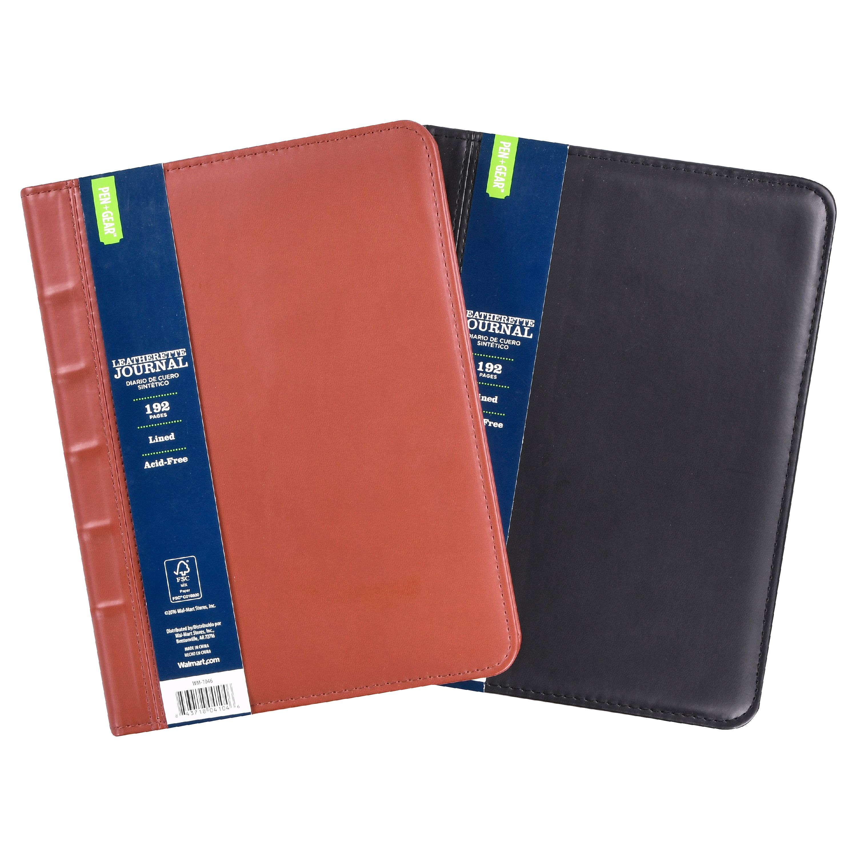 Pen+Gear Leatherette Journal, 192 Pages