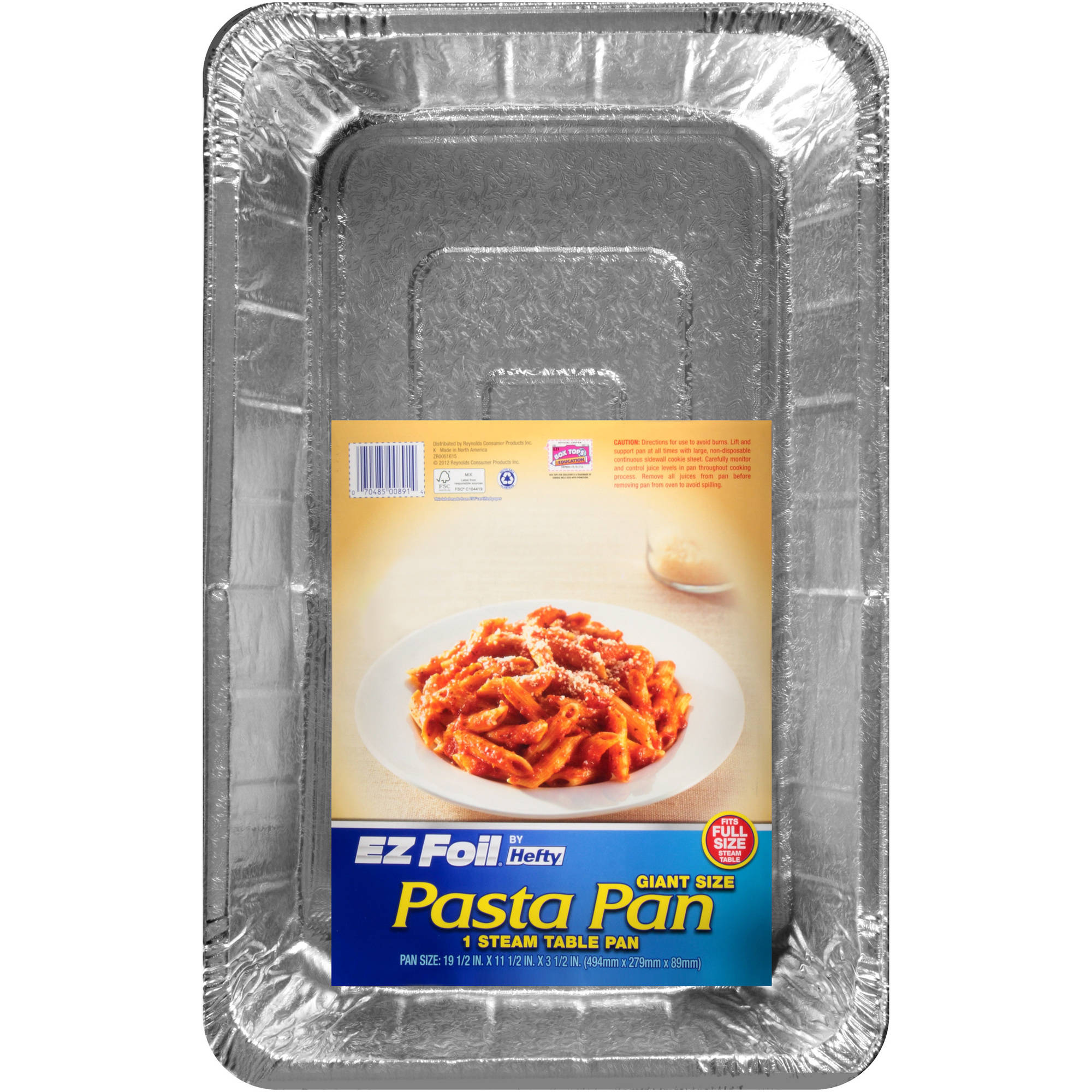 Hefty EZ Foil Giant Pasta Pan
