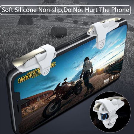 For PUBG L1R1 Gaming Trigger Mobile Phone Fire Button Handle Shooter  - image 11 of 12