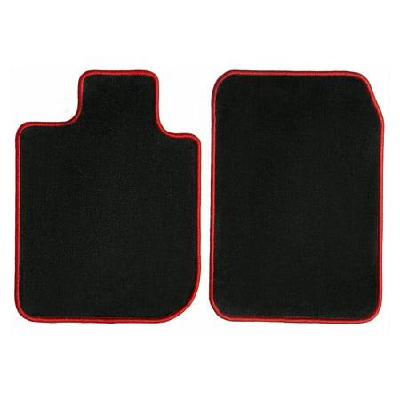 GGBAILEY Lexus RX350 Black with Red Edging Carpet Car Mats / Floor Mats, Custom Fit for 2016, 2017, 2018, 2019 - Driver & Passenger (2019 Best Driver's Car)
