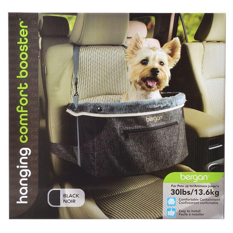 Bergan Pet Products Bergan Comfort Hanging Booster Seat - Black Small - (Pets up to 30 Pounds)