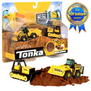 Tonka - Metal Movers Combo Pack - Front Loader and Bull Dozer