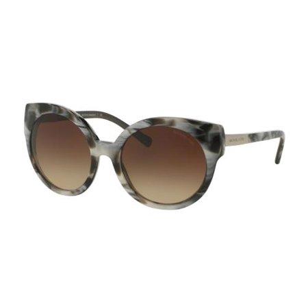 Mk 275 Marble (MICHAEL KORS Sunglasses MK 2019 311413 Metallic Black Marble 55MM )