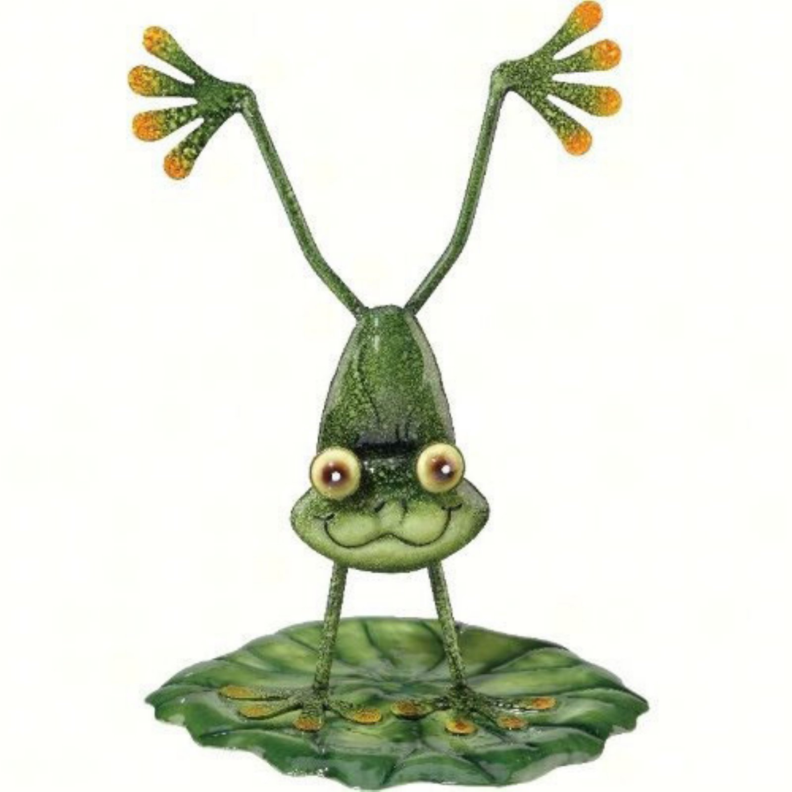 Regal Art and Gift Handstand Frog Garden Decor