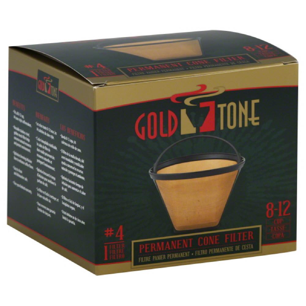 Gold Tone GoldTone  Cone Filter, 1 ea