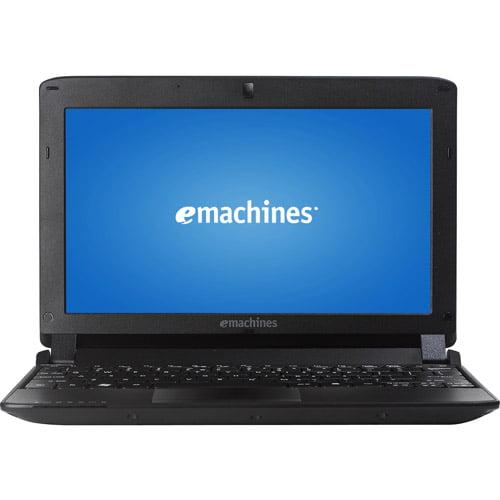 "eMachines Black 10.1"" eM350-2074 Netbook PC with Intel Atom N450 Processor & Windows XP Home"