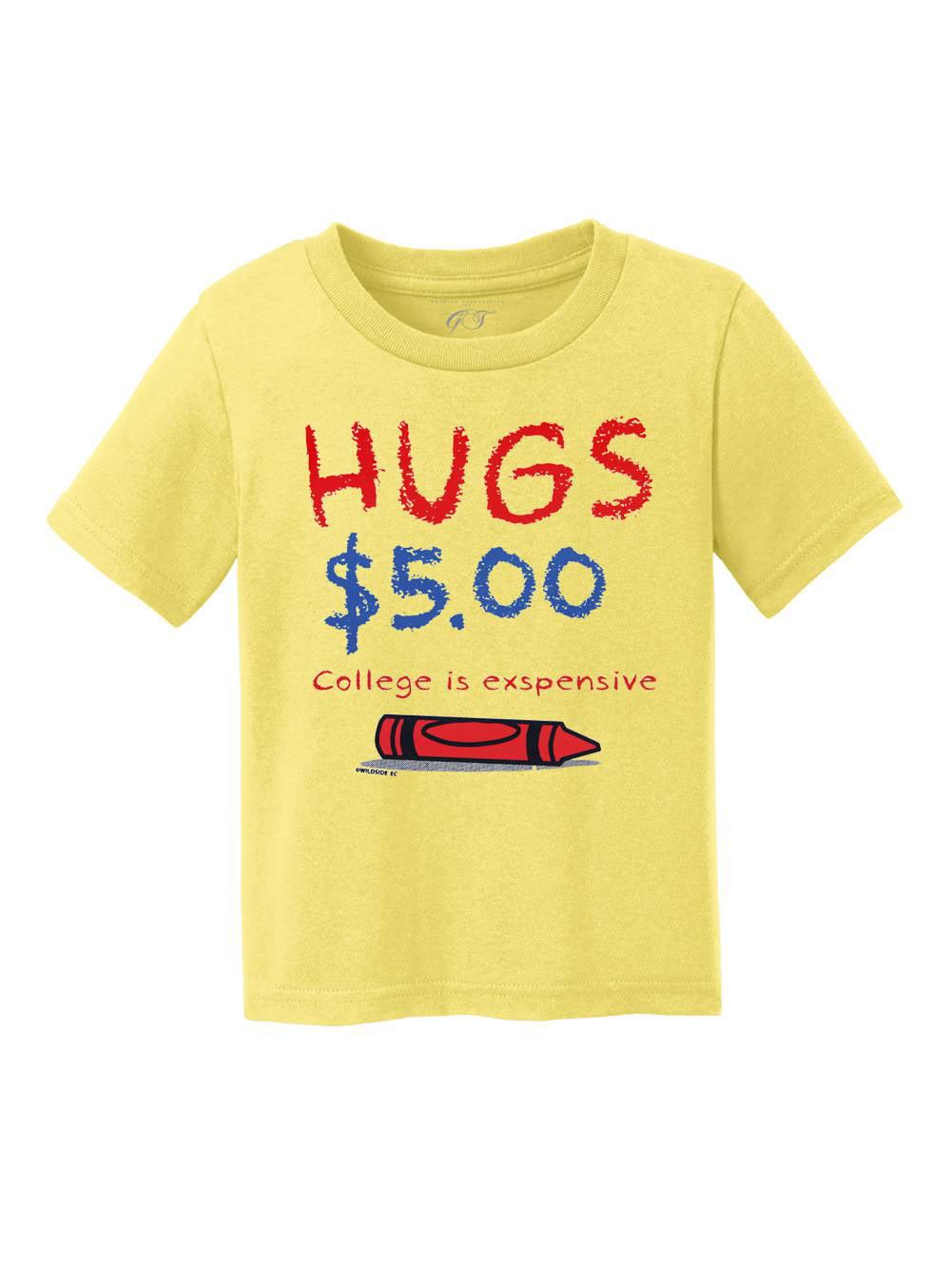 Toddlers Hugs $5.00 Short-Sleeve T-Shirt