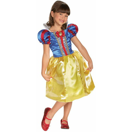 Snow White Sparkle Child Halloween Costume](Snow White Kid Costume)