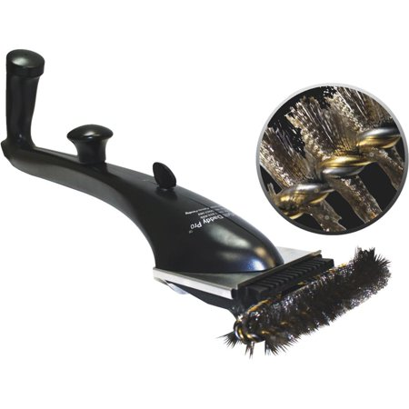 Grill Daddy Pro Steam Cleaning Grill Brush Safety-Clean with Bristle-Lock technology
