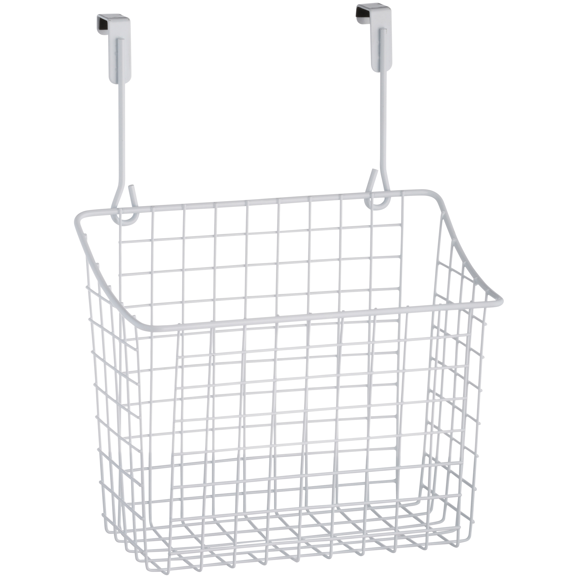Spectrum® Over Cabinet Door™ Large White Grid™ Basket™
