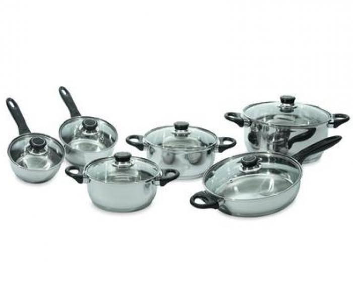 Berghoff Ostend 12pc Cookware Set SS by BergHOFF International