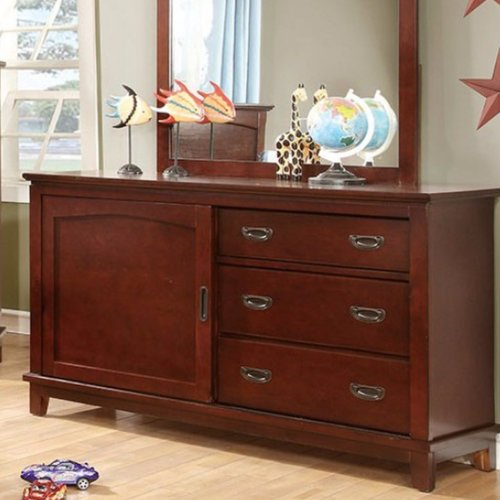 Harriet Bee Altieri 3 Drawer Combo Dresser by