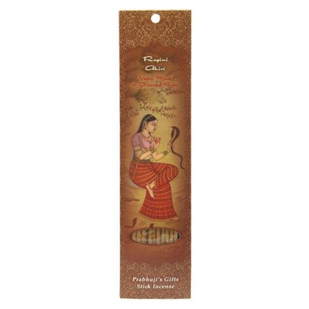 Incense Sticks Ragini Ahiri - Vedic Musk and Oriental Rose - Prayfulness