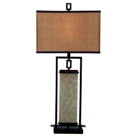 Plateau Collection 1 Light (Kenroy Home 30740ORB Plateau Table)