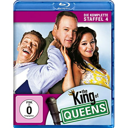 The King of Queens (Complete Season 4) - 2-Disc Set ( The King of Queens - Season Four (25 Episodes) ) [ Blu-Ray, Reg.A/B/C Import - Germany