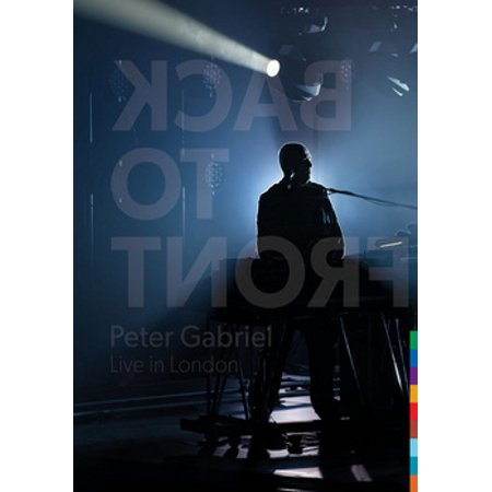 GABRIEL P-BACK TO FRONT-LIVE IN LONDON (DVD W/2CD/BOOK/LTD ED/2 DISCS)