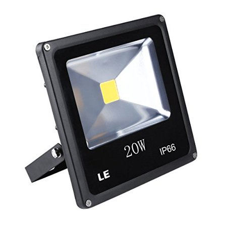 Le 20w Super Bright Outdoor Led Flood Lights 200w Halogen Bulb Equivalent Waterproof 1500lm Daylight White 6000k Security