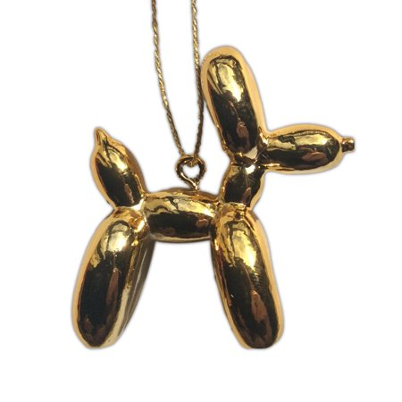 BUPPIES! Balloon Dog Animal CHRISTMAS ORNAMENT - GOLD](Balloon Ornaments)